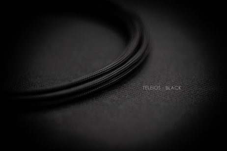 Teleios Black Cable Sleeving