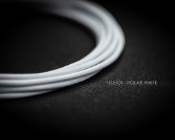 Teleios Polar White Cable Sleeve