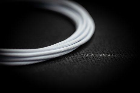 Teleios Polar White Cable Sleeve