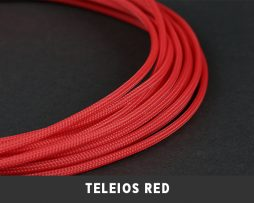 Teleios Cable Sleeve Red