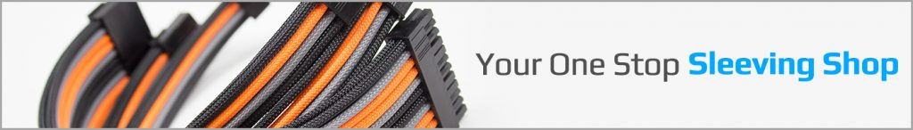 Cable sleeving pc cables
