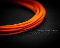 Lambent Orange Cable Sleeving