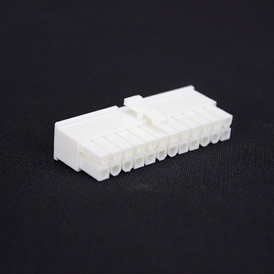 White 24pin Female Connector