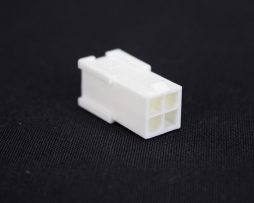 White 4pin EPS Male Connector