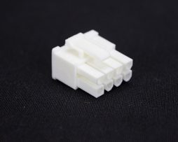 White 6+2pin PCI-E Female Connector