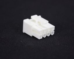 White 8pin PCI-E Female Connector