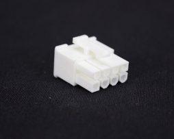 White 8pin PCI-E Female Connector
