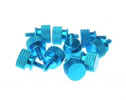 Gosumodz Thumbscrew UNC 6-32 – Blue 10pcs