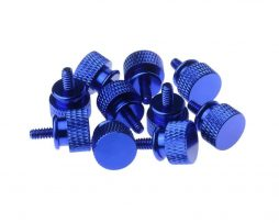 Gosumodz Thumbscrew UNC 6-32 – Dark Blue 10pcs