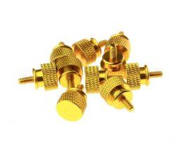 Gosumodz Thumbscrew UNC 6-32 – Gold 10pcs