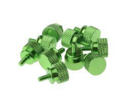 Gosumodz Thumbscrew UNC 6-32 – Green 10pcs