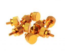 Gosumodz Thumbscrew UNC 6-32 – Orange 10pcs