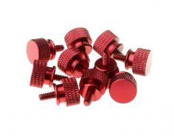 Gosumodz Thumbscrew UNC 6-32 – Red 10pcs