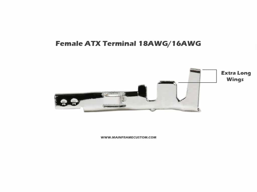 Female ATX Terminal Long Wing