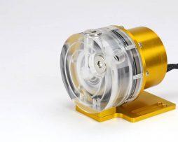 MAINFrame Customs M7 PWM Pump – Plexi/Gold