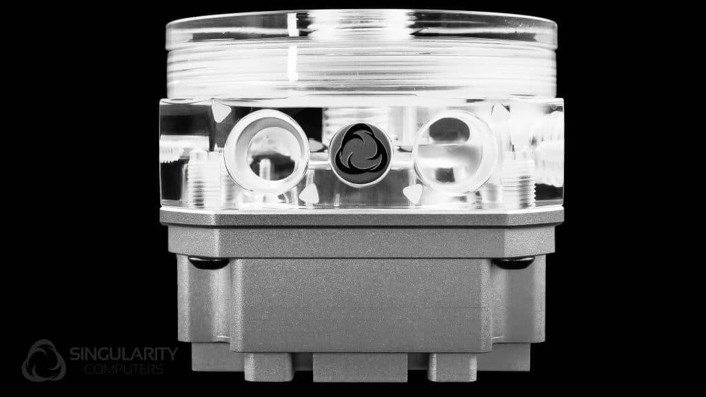 Singularity Computers Protium DDC Mod Kit – Polished Acrylic Silver