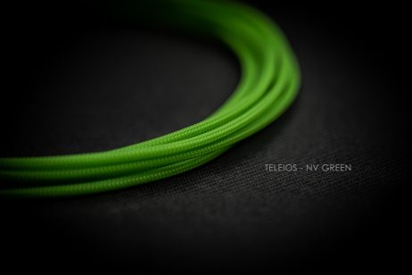 NVIDIA Green Cable Sleeving