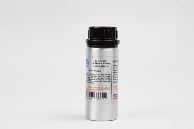 Mayhems Xt-1 Nuke Uv Clear Sky Blue Concentrate Coolant 100ml Fans, Heat Sinks & Cooling