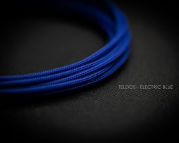 Teleios Electric Blue Cable Sleeving