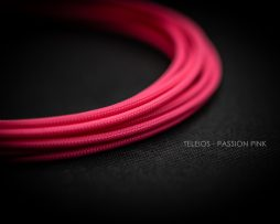 Teleios Passion Pink Cable Sleeving