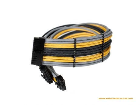 Custom EVGA Corsair Seasonic 24pin PC Cables