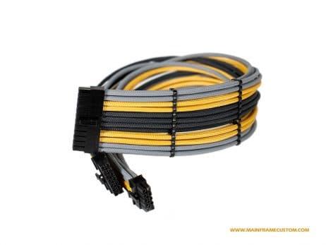 Custom EVGA Corsair Seasonic 24pin PC Cables