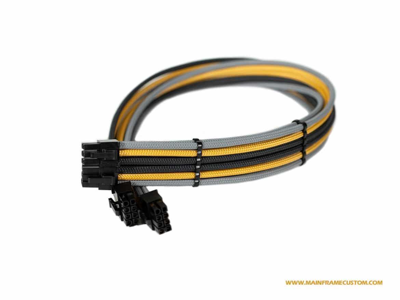Custom Sleeved Evga Power Supply Cable 6pin 6pin Pci E