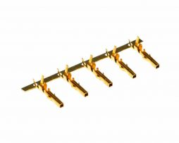 Gold Plated Female ATX Terminal 18AWG 16AWG