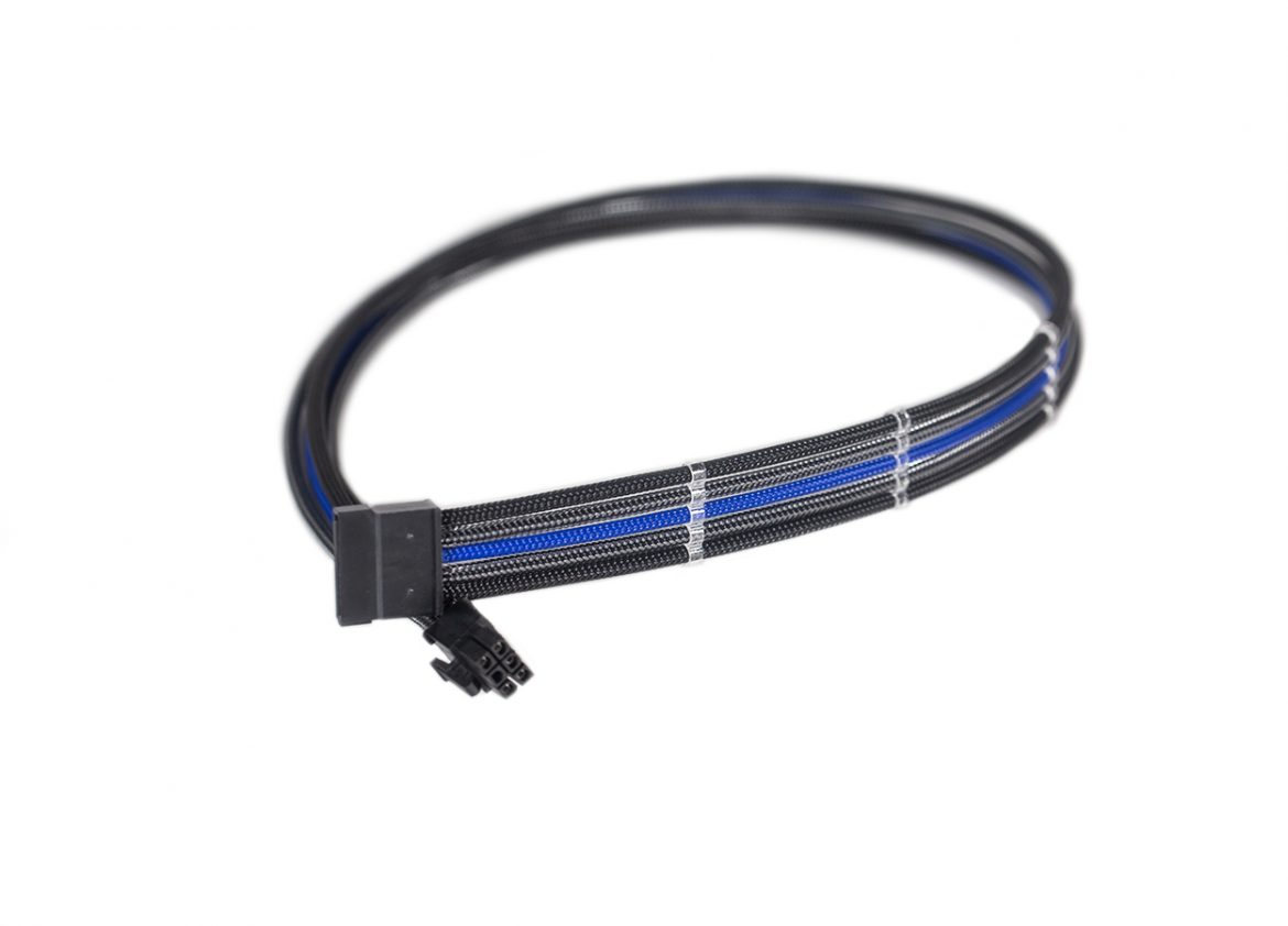 Cable Length 5PCS Computer Cables 5Pin to 4 SATA Modular Power Supply Adapter Cable for Seasonic SS-620GM