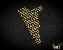 Gold cable combs